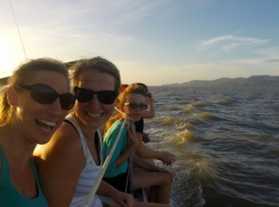 Blog 8 - Settling in, Studying and Sunset Sailing…