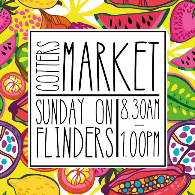 Cotters Market thumb - SUNDAY ON FLINDERS - COTTERS MARKET