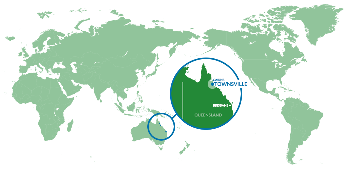 map - Where is Townsville